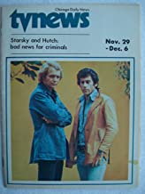 November 29-December 6, 1975, Chicago Daily News TV News Magazine featuring STARSKY & HUTCH stars David Soul and Paul Michael Glaser