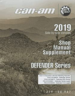 2019 CAN-AM ATV SIDE-BY-SIDE DEFENDER SERIES SHOP MANUAL SUPPLEMENT (666)