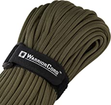 Titan WarriorCord | 103 FEET, 620 LB. TENSILE Strength | Exceeds MIL-SPEC Type III 550 Paracord Strength Standards. 7-Strand, 5/32
