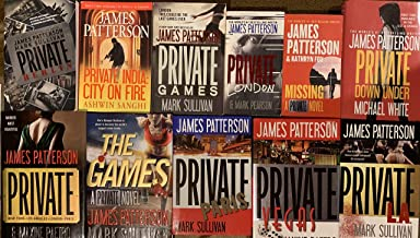 James Patterson Private Series 8 Book Set