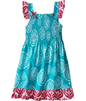 Hatley Kids - Tropical Ocean Smocked Dress (Toddler/Little Kids/Big Kids)