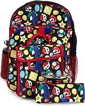 Super Mario Backpack & Lunch Bag 5-piece Set
