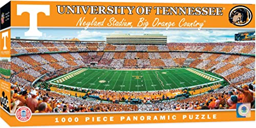 MasterPieces Obras maestras NCAA Estadio panorámica Jigsaw Puzzle, 1000, Niños niña Infantil, Tennessee