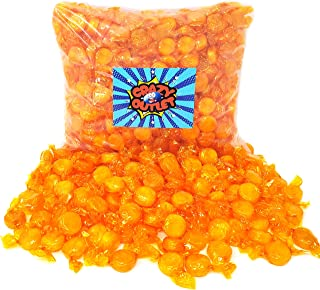 CrazyOutlet Pack - Butterscotch Disks Hard Candy Buttons, Old School Candy Individually Wrapped, 2 lbs