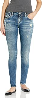 Women's Kenni Girlfriend Relaxed Skinny Jeans