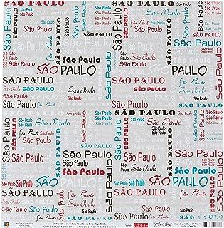 Kit Fls. P/ Scrap Df Col. Viajando Pelo Brasil Sp Palavras C/12 Un (By Flavia, Toke E Crie, Sdf457, Multicolorido, Pacote ...