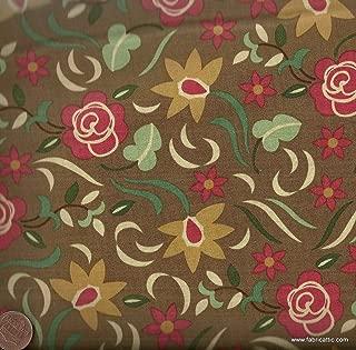 Honky Tonk mud Retro Bandana Western Moda Fabric