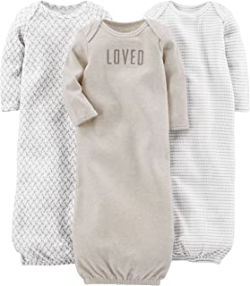 Baby 3-Pack Cotton Sleeper Gown