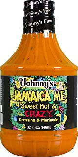 Johnny`s Sweet Hot & Crazy Dressing, 32 Ounce (3 Pack)