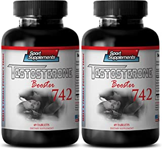 Best testosterone booster on the market - Testosterone Booster 742 - Reduces fat (2 Bottles - 138 Tablets)