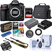 Nikon D850 DSLR Camera Body - Bundle with 32GB SDHC U3 Card, Camera Case, Spare Battery, Cleaning Kit, Memory Wallet, Card Reader, Pc Software Package
