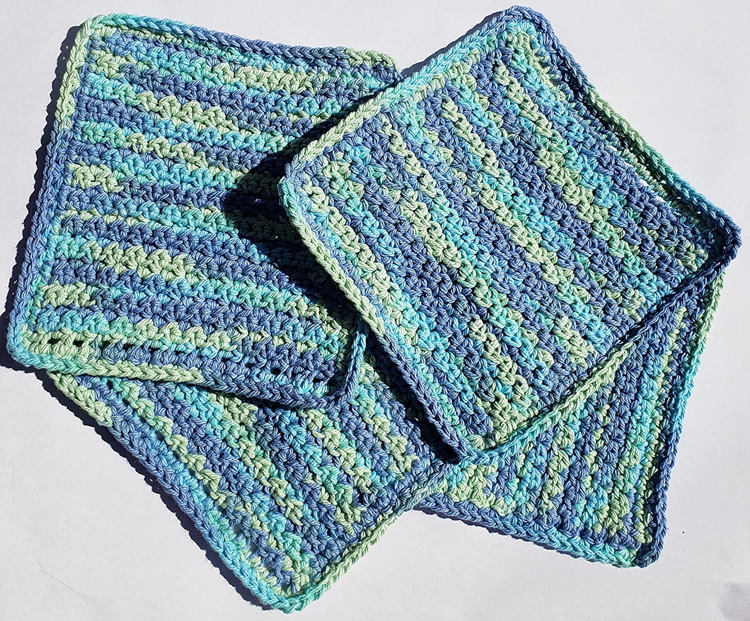 Kitchen Country Stripes Linen Max 71% OFF Dish Croc Cloths Cleaning NEW before selling ☆ Handmade