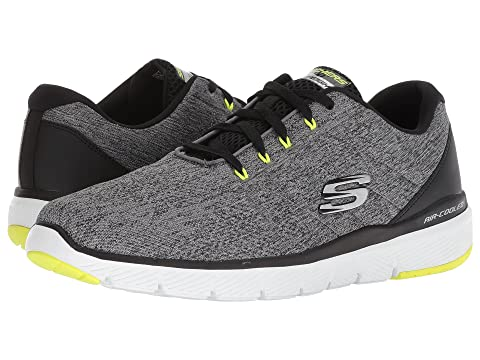 Flex Noir Avantage 3 ligne Skechers Shopping Bleu en Blackgray 0 qBcFzWSW