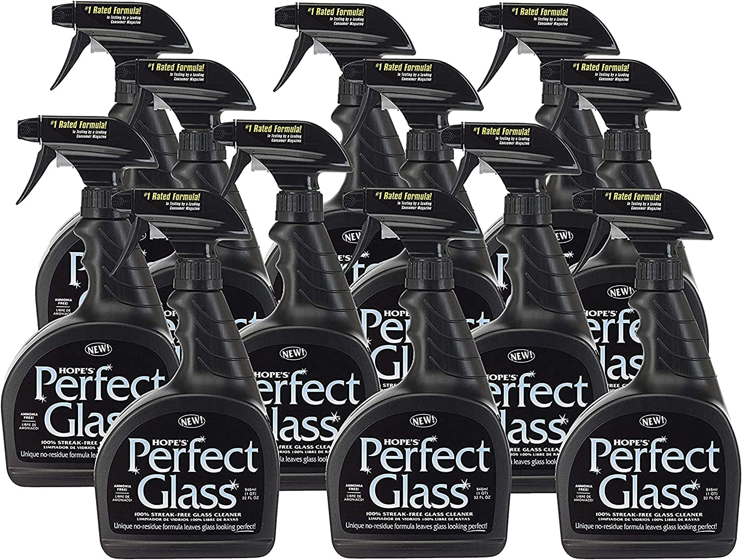 Chicago Mall HOPE'S Perfect Glass Cleaning Spray Top Max 82% OFF Cl Stove Mirror Window