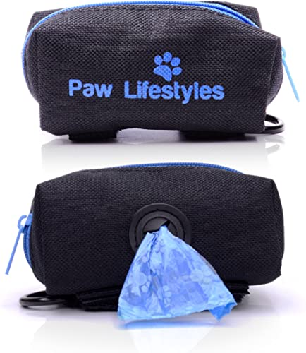 Paw Lifestyles Dog Poop Bag Holder Leash Attachment - Fits Any Dog Leash - Includes Free Roll Of Dog Bags – Poop Bag ...