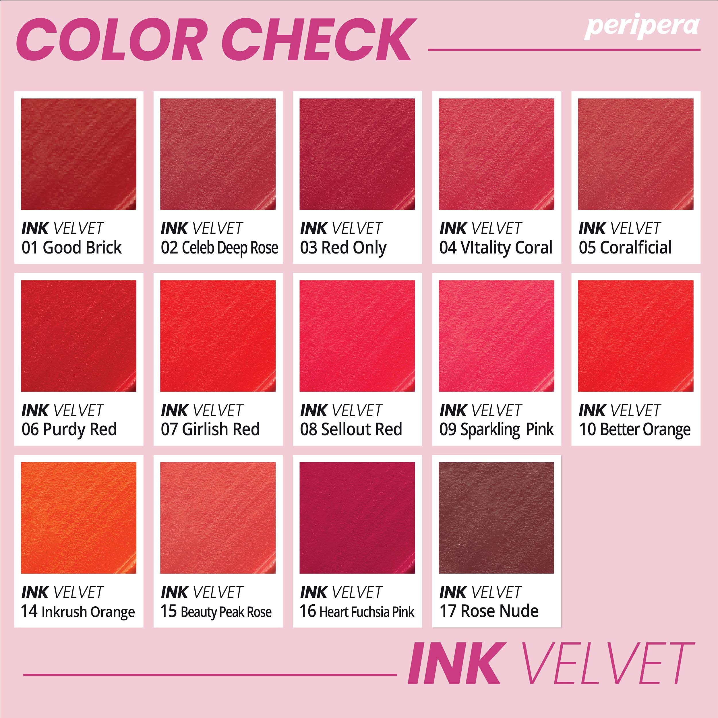 Peripera Ink the Velvet Lip Tint - You Are The Apple Of