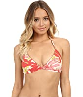Vince Camuto - Crete Flower Bikini Top with Removable Soft Cups