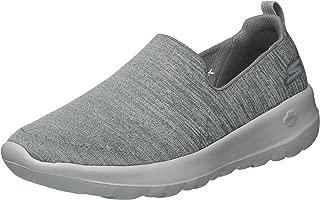 Women's Go Walk Joy-15611 Sneaker, gray, 9 M US