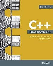 C++ Programming: Program Design Including Data Structures (MindTap Course List)