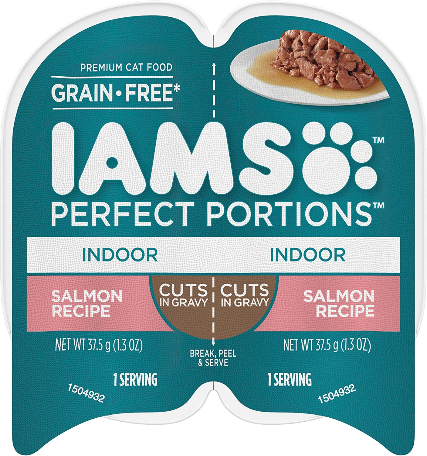 Brand new IAMS Max 84% OFF Perfect Portions Healthy Grain Free Wet Food Cat Twin 24