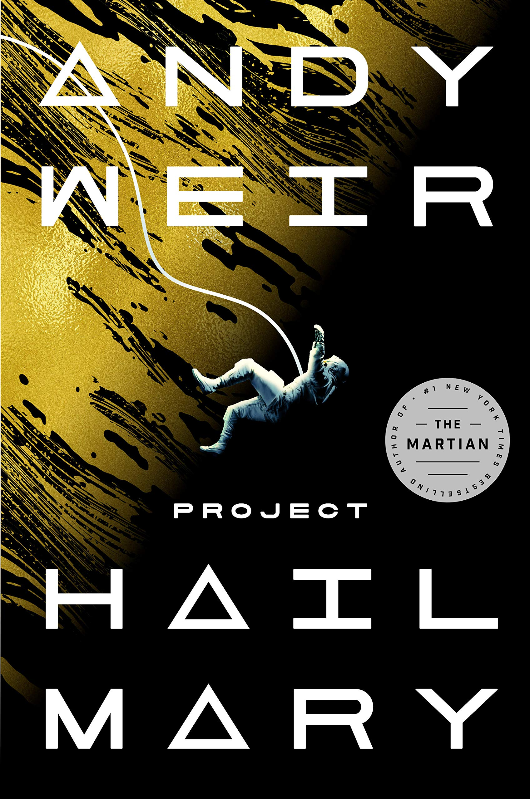 Cover image of Project Hail Mary by Andy Weir