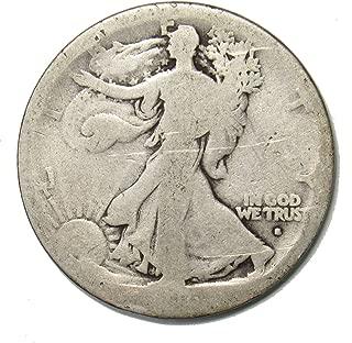 1916 S Walking Liberty Half Dollar 50¢ OBV - KEY DATE