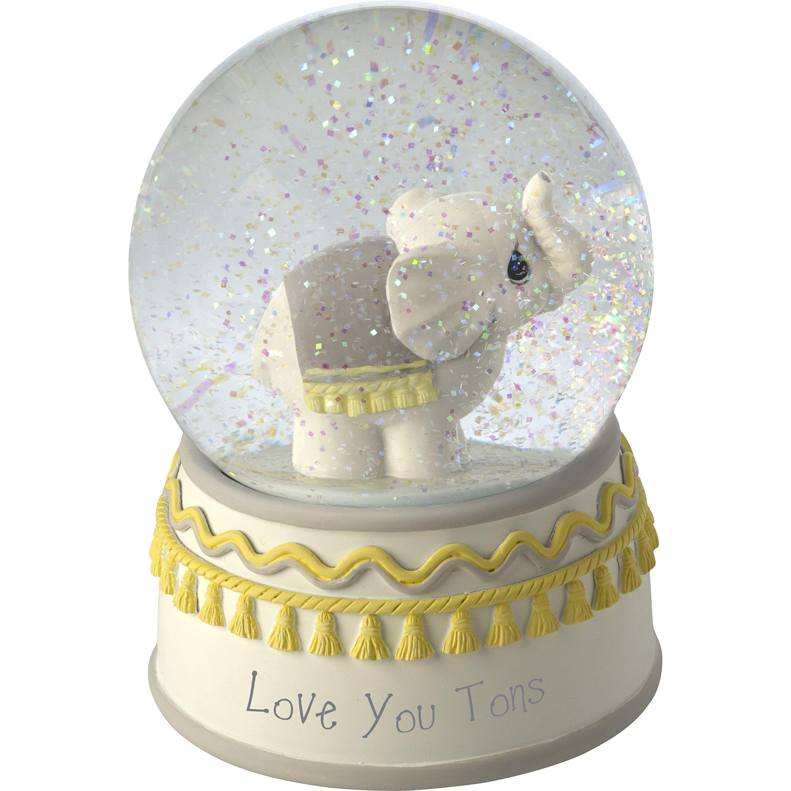 Image of Cute Musical Elephant Water Globe