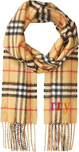 Burberry Embroidery Check Scarf (Little Kids/Big Kids)