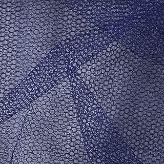 Falk Fabrics LLC Nylon Netting Navy Fabric