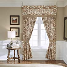 Croscill Delilah Curtain Panels, Spice