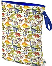 Planet Wise Wet Bag, Large, Dino Mite Dinosaur (Made in The USA)