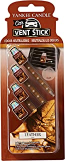 Yankee Candle Car Vent Stick, Leather