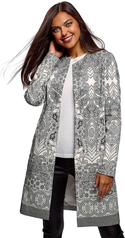 Oodji Ultra Women's Snap Cotton Coat