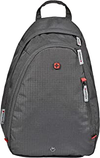 Wenger 604427 Compass Essential Sling Bag, Black, 16 L Capacity