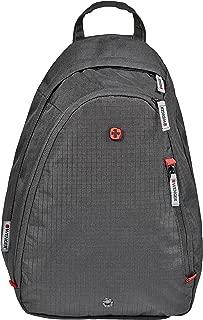 Wenger 604427 Compass Essential Sling Bag, Black, 16 L Capacity