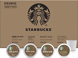 Starbucks Medium Roast Coffee K-Cup Variety Pack for Keurig Brewers, 24 Count (Pack of 4)