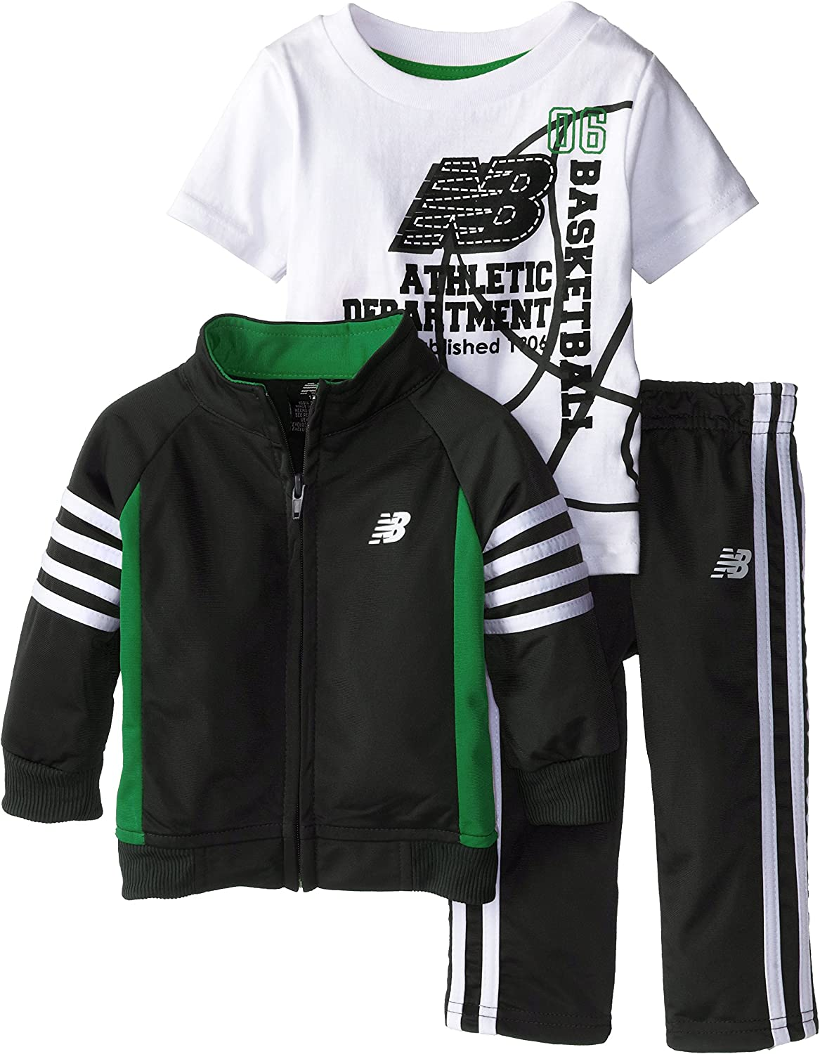 New Balance Baby Boys' Athletic Department Tricot Jacket and Pant