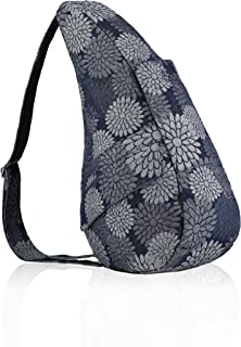 AmeriBag Healthy Back Bag tote Print Extra Small (Flower Power Grey)