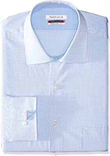 Sean John Van Heusen Men's Regular Fit Fine Line Stripe, Ice Blue, 17/34x35