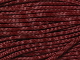 50FT Type III Burgundy Paracord 550 Parachute Cord 7 Strand Made In USA