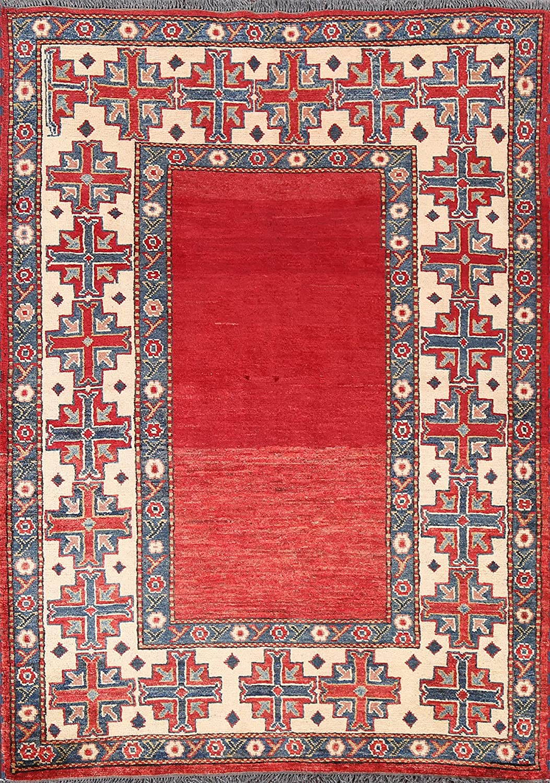 Vegetable Choice Popular popular Dye Geometric Red Super Handma Rug Oriental Kazak Area