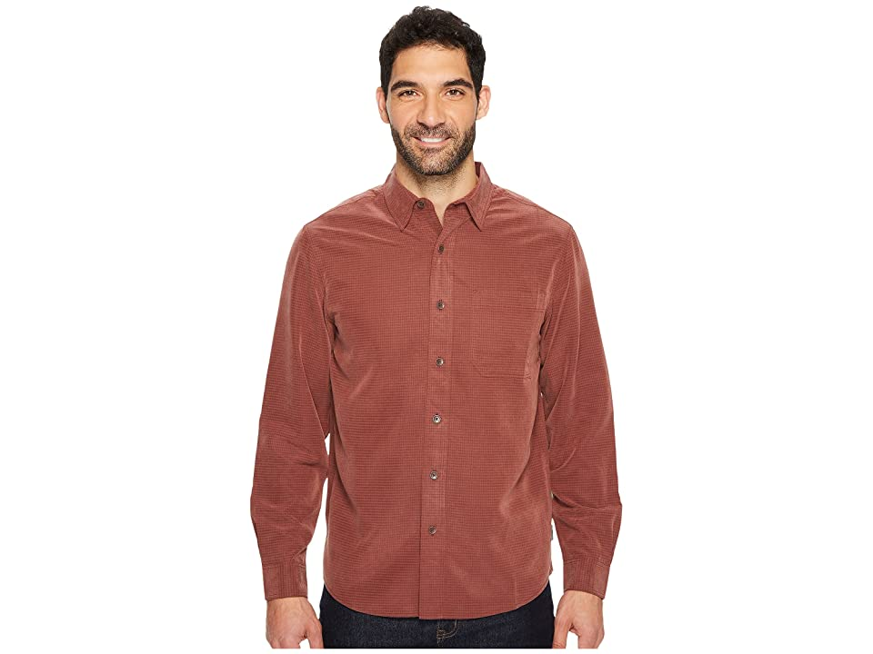 Royal Robbins Desert Pucker L/S Shirt (Raisin) Men