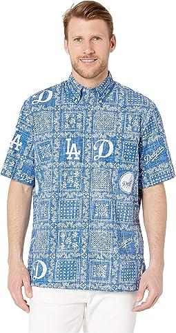 LA Dodgers Lahaina Hawaiian Shirt