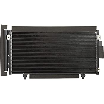 A//C Condenser Compatible with 2009-2013 Subaru Forester Aluminum Core With Receiver Drier