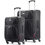 Aspire xLite Expandable Softside Luggage with Spinner Wheels
