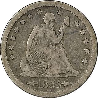 1855 s quarter