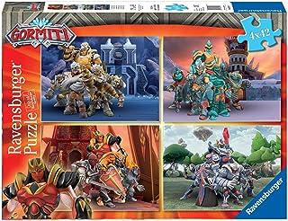 Ravensburger 5017 Gormiti Children's Puzzle - Multicoloured, 4 x 42 Pieces