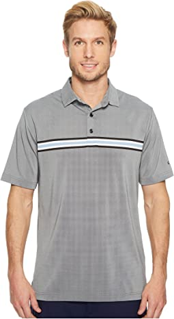 Oxford Engineered Chest Stripe Polo