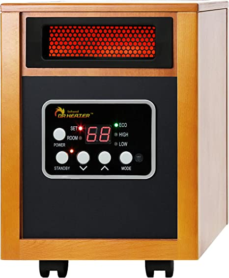Dr Infrared Heater Portable Space Heater, 1500-Watt: image