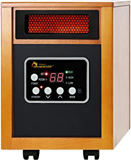 Dr – Calefactor por Infrarrojos Radiador portátil, 1500-w